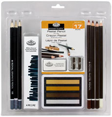 17 dijelni set Pastel Pencil ART Set