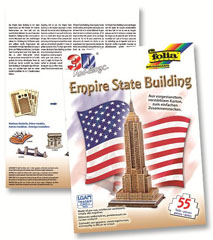 3D-Model Empire State Building 55 dijelova