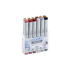 Flomasteri COPIC Classic Architecture Colours - set od 12 kom