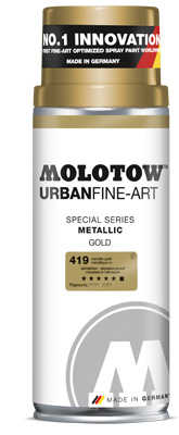 Sprej Graffiti MOLOTOW™ UFA Metallic 400 ml