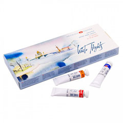 Set akvarela White Nights u tubi - 12x10 ml