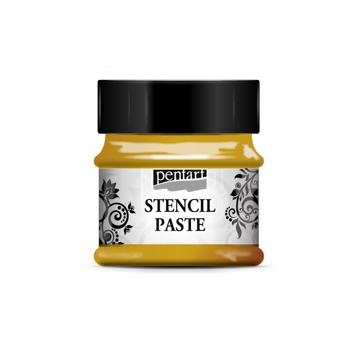 Pasta za Šablonu - Metalik - Stencil paste Pentart 50ml - gold