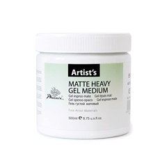 Mat gel medijum Heavy 500 ml