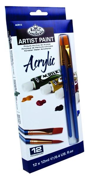 Akrilne boje ARTIST Paint 12x12ml