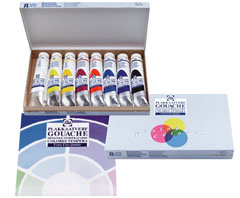 Tempere GOUACHE TALENS SET 8 x 20 ml