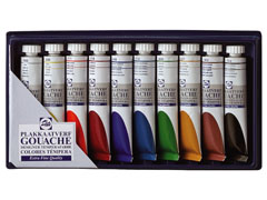 Tempere GOUACHE TALENS SET 10 x 20 ml