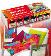 Set boja za svilu JAVANA - 6 x 20 ml