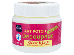 Lak i ljepilo za decoupage 150 / 250 ml ART POTCH Decoupage - sjajni