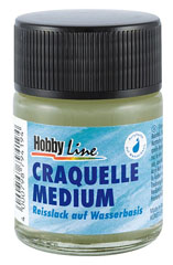 Lak sa Crackle efektom Hobby Line - 50 / 150 ml