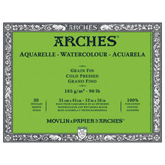 Blok ARCHES® Aquarelle Watercolour Cold Pressed - izaberite format