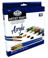 Akrilne boje ARTIST Paint 18x12ml