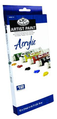Akrilne boje ARTIST Paint 12x21ml
