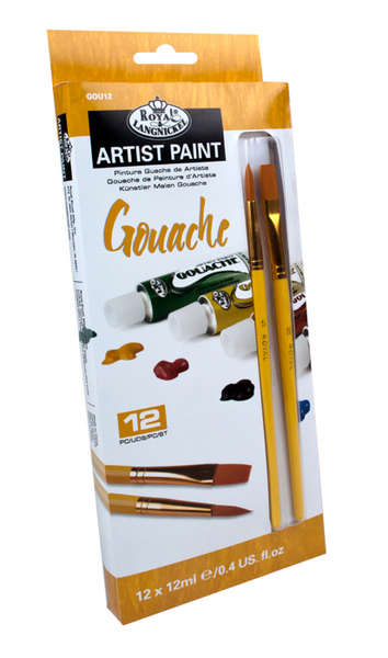 Gvaš boja Royal & Langnickel  - ARTIST Paint 12x12 ml popust -50%