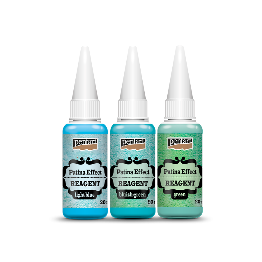Reagenti sa efektom patine - set 3 x 20 ml