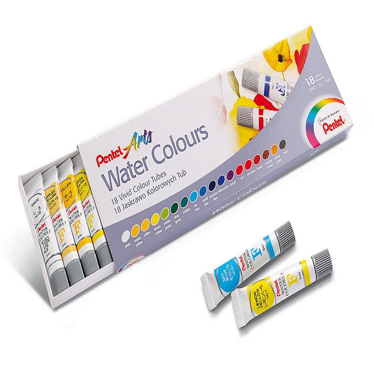 Set akvarel boja Pentel - 18x5ml