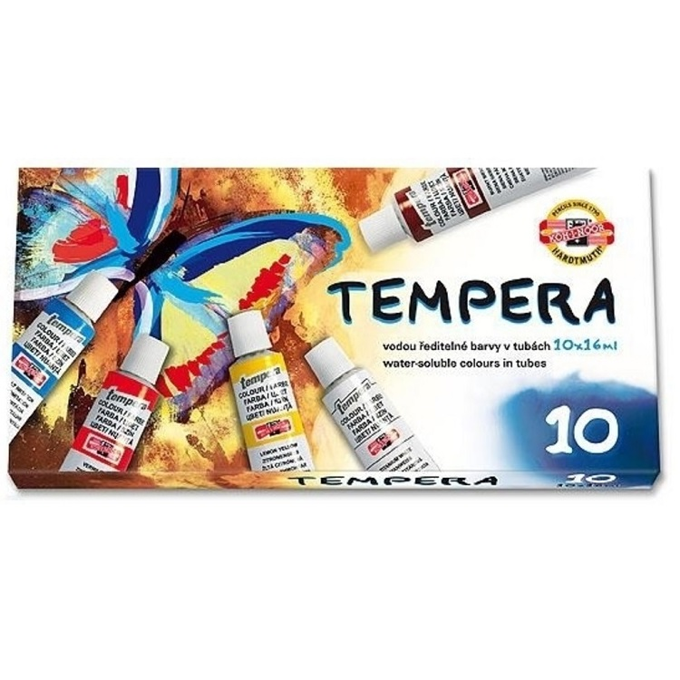 Set tempera KOH-I-NOOR - 10x16ml